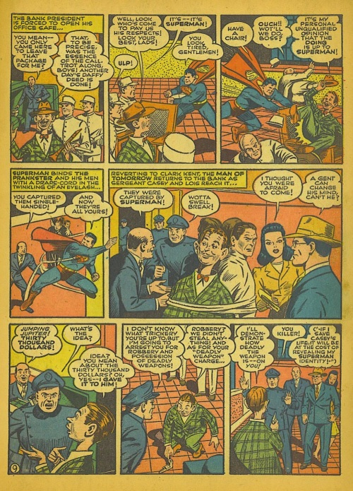 3-36 Stratagems as Portrayed in Comic Books-Action Comics #51 (1942) - Page 12
