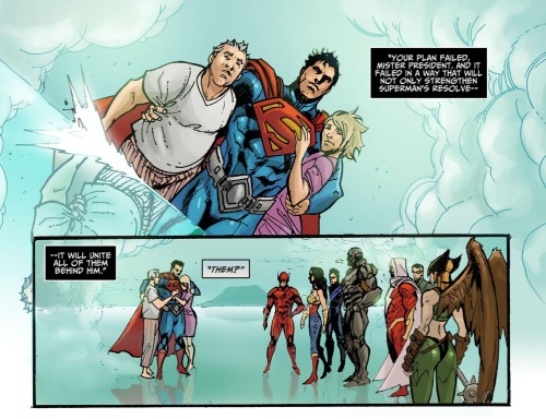 6-36 Stratagems as Portrayed in Comic Books-Injustice - Gods Among Us #8 - Page 21