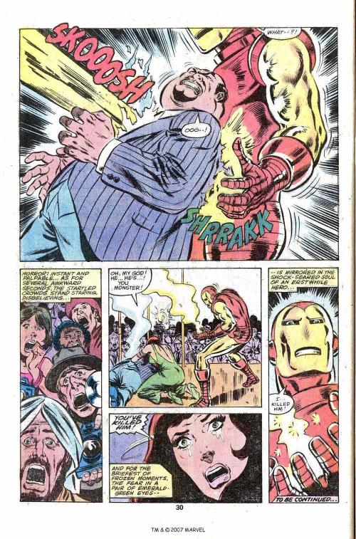 7-36 Stratagems as Portrayed in Comic Books-The Invincible Iron Man #124 - Page 32