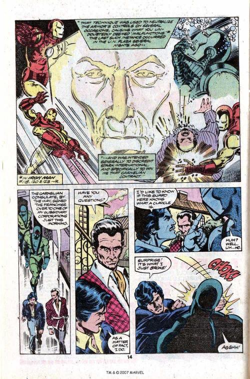 8-36 Stratagems as Portrayed in Comic Books-The Invincible Iron Man #126 - Page 16