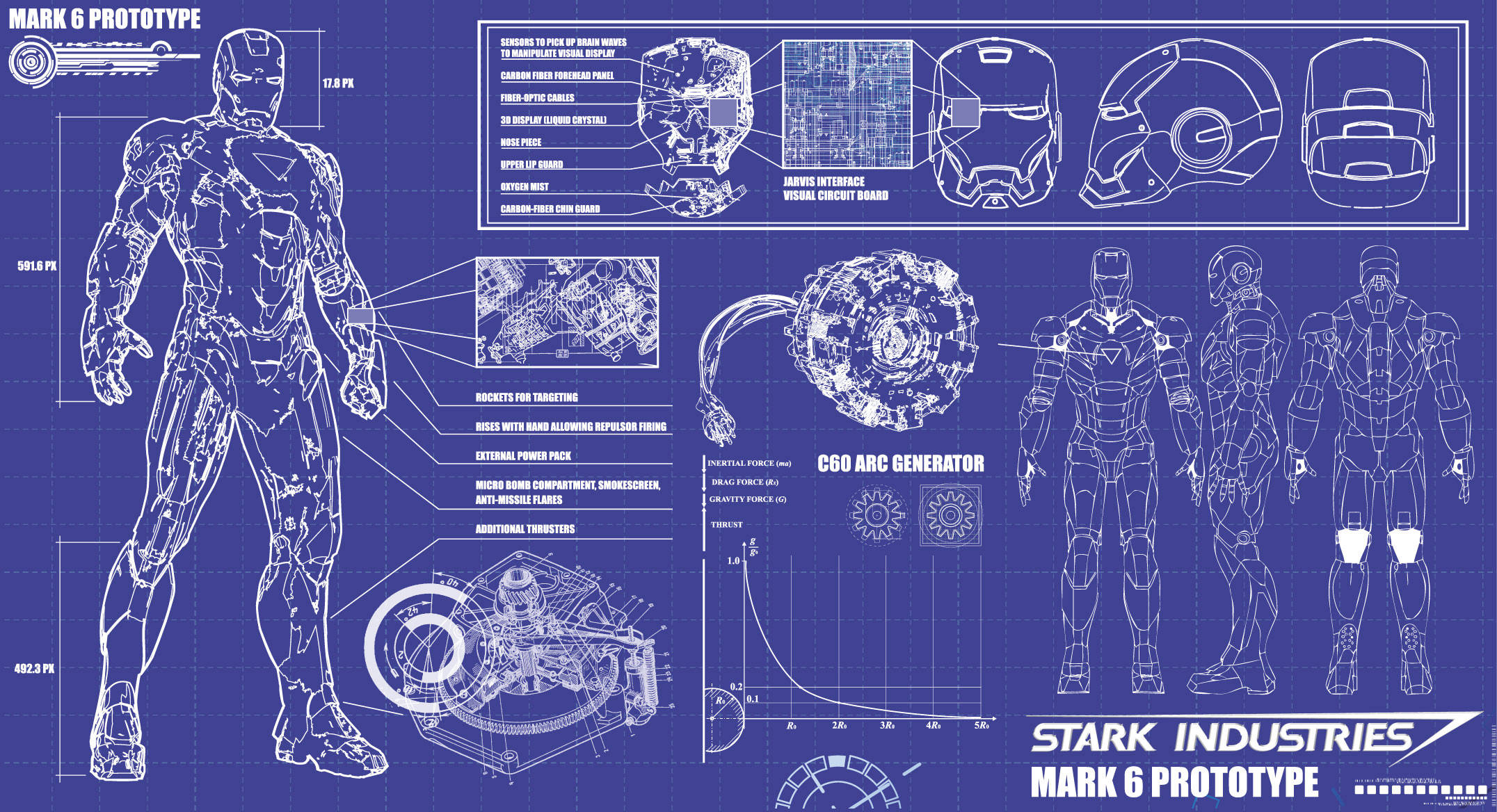 iron man schematics labeled diagram of iron man