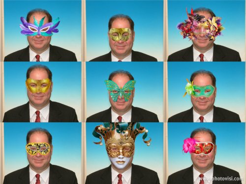 12AdornPic Masks Hugh Fox