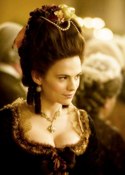 4Hayley Atwell as Lady Elizabeth 'Bess' Foster