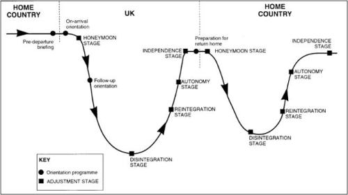 Culture Shock W-Curve