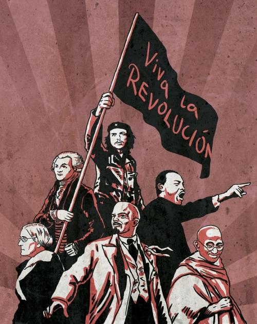 viva-la-revolucion-ernesto-che-guevara-maximilien-robespierre-martin-luther-king-susan-b-anthony-vladimir-ilyich-lenin-mohandas-gandhi