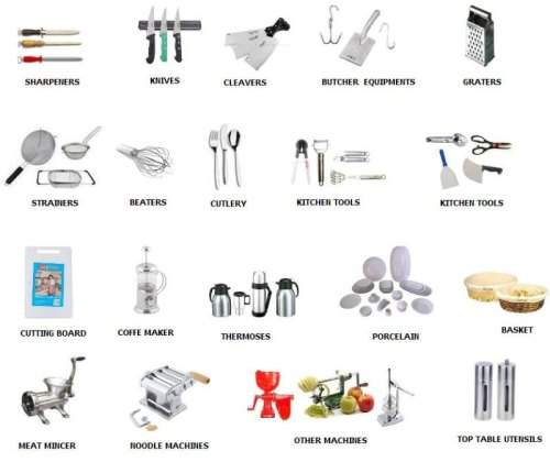 16Kitchen Utensils