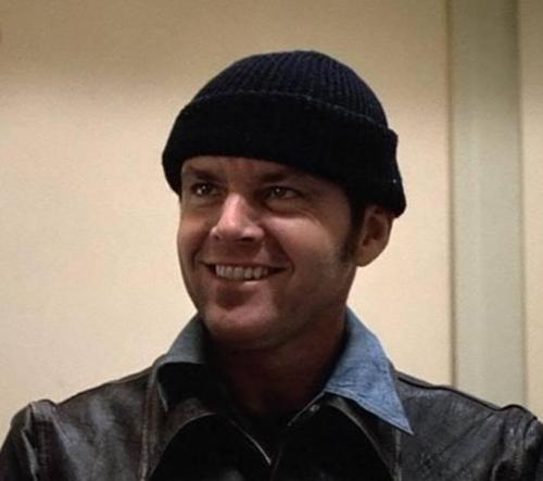 1Jack Nicholson as Randle McMurphy