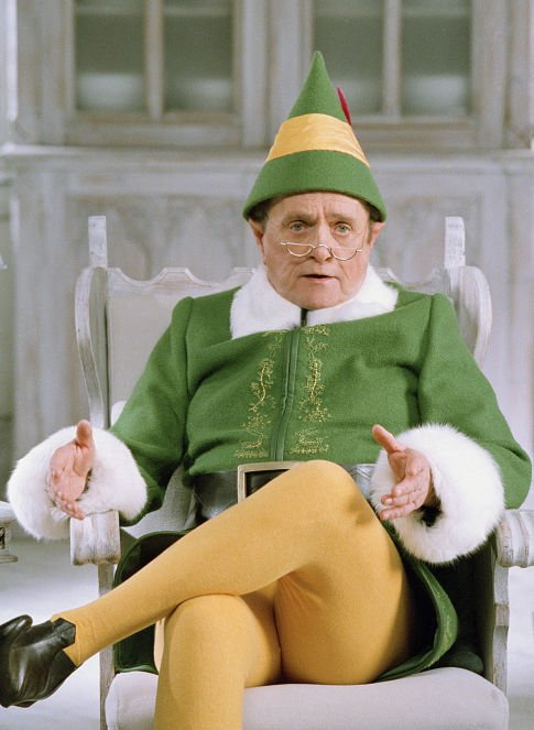 4Bob Newhart as Papa Elf