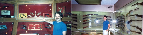 Hugh Fox and Gun Collection