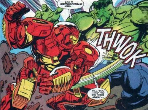 Iron Man versus Hulk