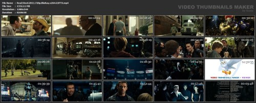 Real Steel Thumbnails