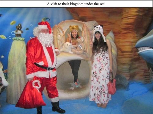 Hugh Fox Santa