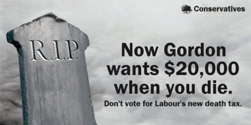 Conservative Tombstone poster