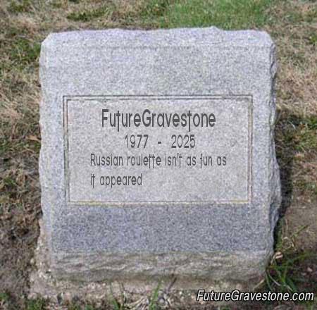 Future Gravestone
