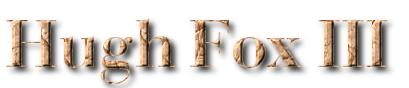 Hugh Fox III - Bevel Golden