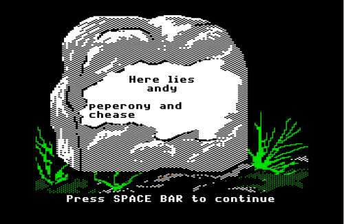 Oregon Trail Tombstone Generator