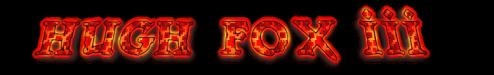 Hugh Fox III - Banner