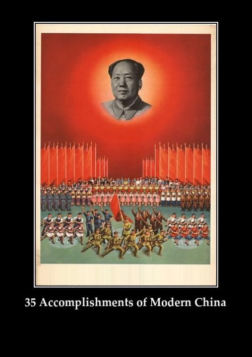 35 Accomplishments of Modern China