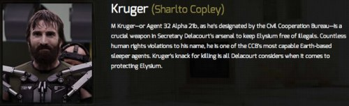 3Sharlto Copley as Agent C.M. Kruger