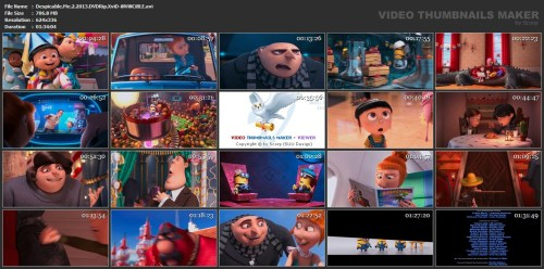 Despicable Me 2 Thumbnails