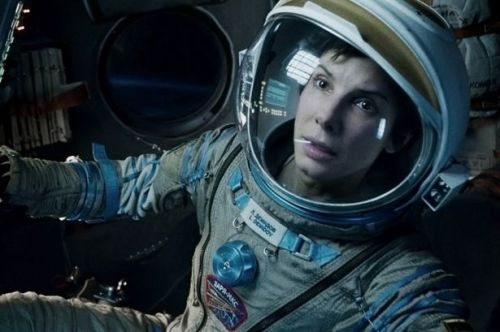 Sandra Bullock as Dr. Ryan Stone