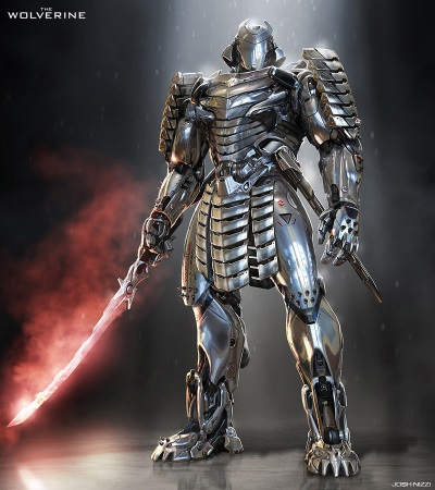 American Samurai 16 - Silver Samurai