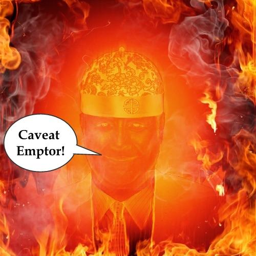 Hugh Fox Caveat Emptor