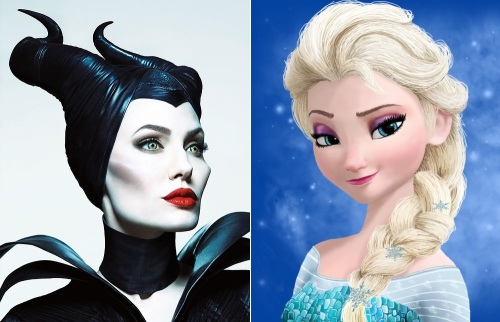 Frozen versus Maleficent