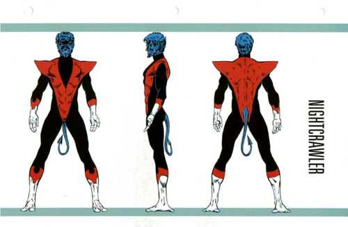 Nightcrawler- OHOTMU Master Edition Resized