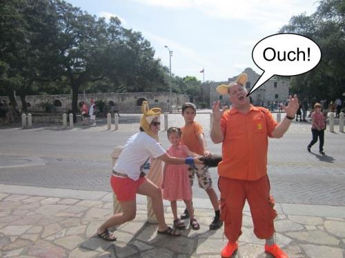 Orange Werefox in San Antonio 1