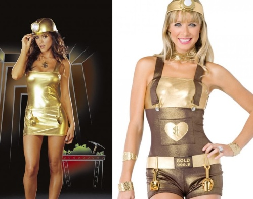 Gold Digger Costumes 1