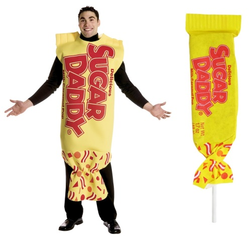 Sugar Daddy Costume and Candy Bar