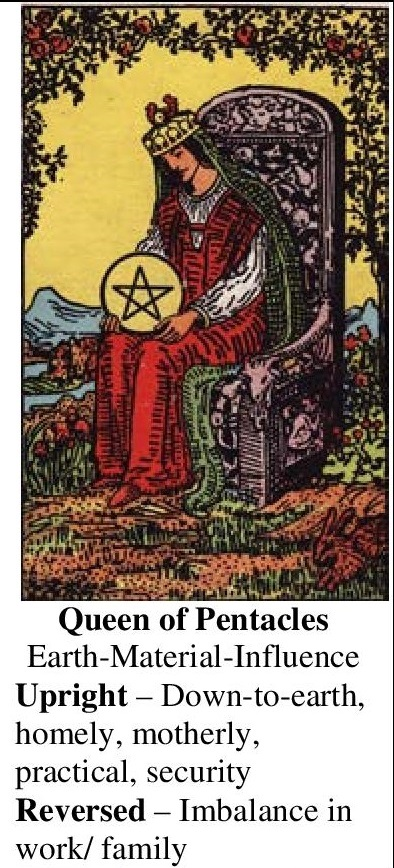 48-Tarot-Queen of Pentacles-Annotated