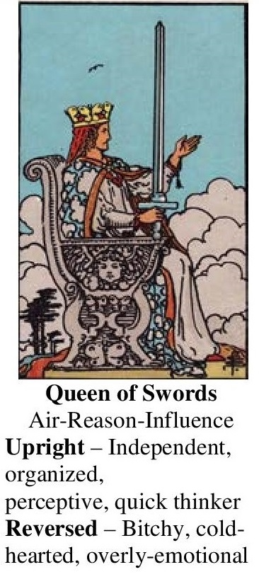 62-Tarot-Queen of Swords-Annotated