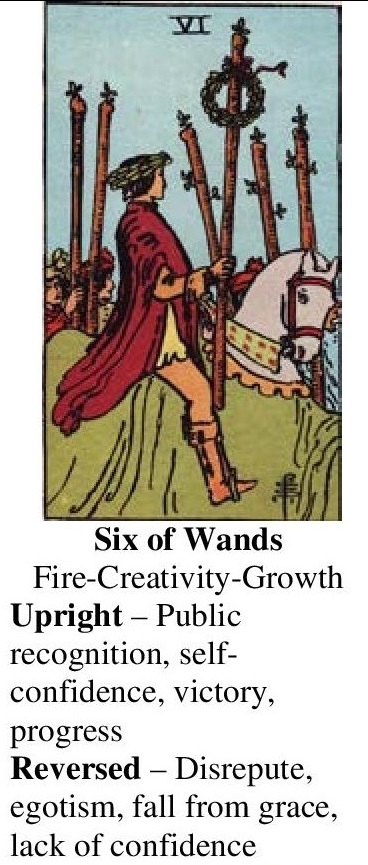 69-Tarot-Six of Wands-Annotated