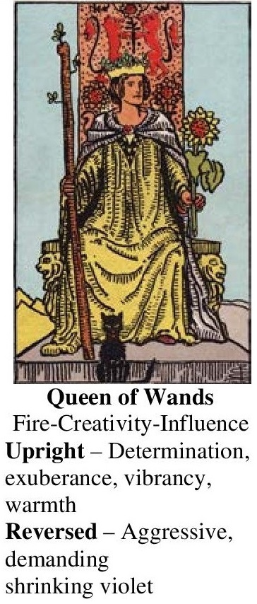 76-Tarot-Queen of Wands-Annotated