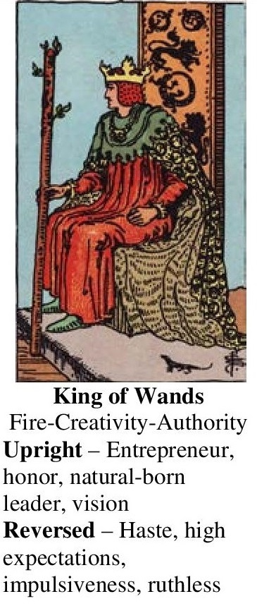 77-Tarot-King of Wands-Annotated