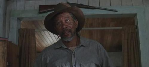3) Morgan Freeman is Ned Logan