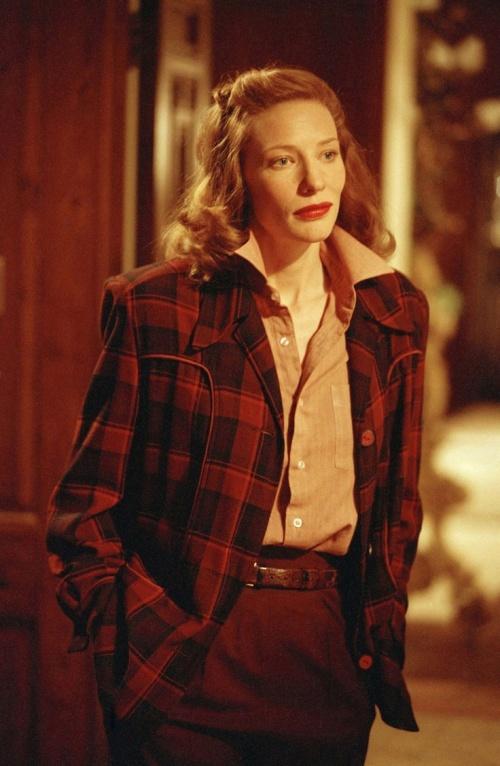 2Cate Blanchett as Katharine Hepburn
