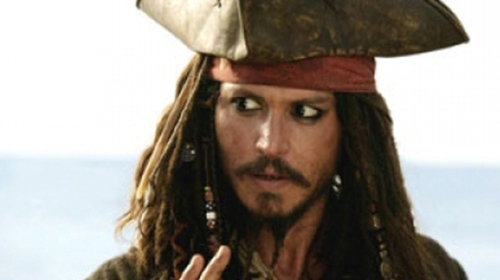 1) Johnny Depp as Captain Jack Sparrow