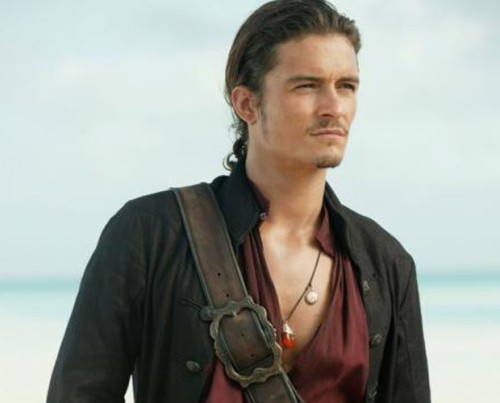 3) Describe Orlando Bloom as Will Turner