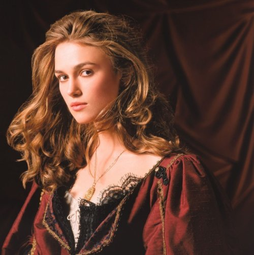 4) Describe Keira Knightley as Elizabeth Swann.