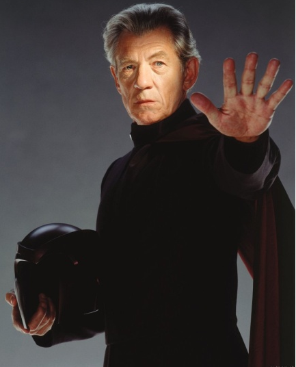 3) Ian McKellen as Erik Lehnsherr Magneto