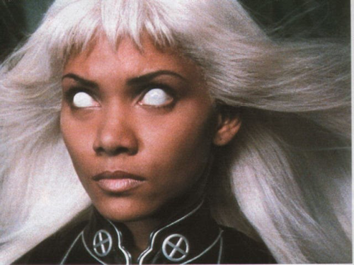 4) Halle Berry as Ororo Munroe-Storm