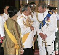 4King of Thailand - International Recognition