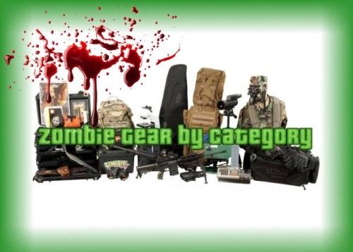 BEST Zombie Gear by Category Blood Spatter