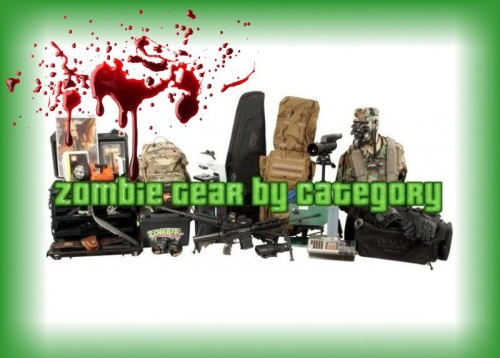 BEST Zombie Gear by Category Blood Spatter