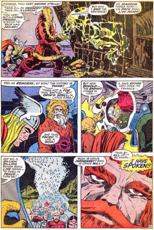 4 Comic Book Merged Humans - Thor #157 - Page 28