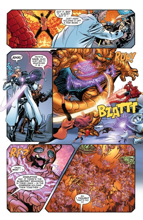 5 Comic Book Merged Humans - Ubersaur - Astro City #30 (2016) - Page 19