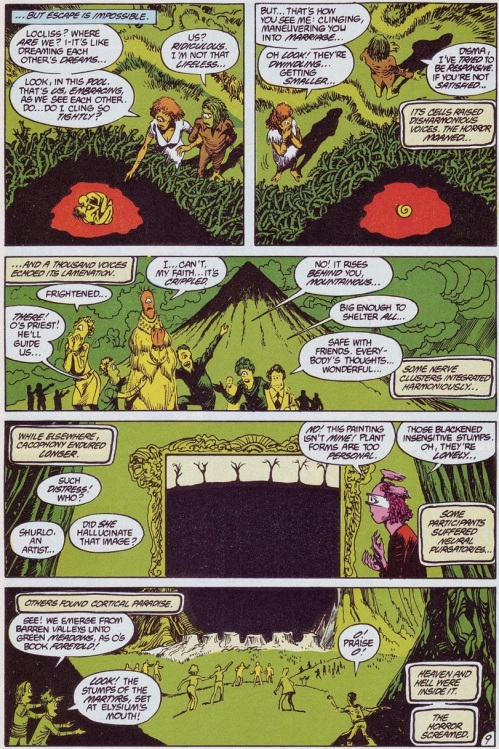 Comic Book Merged Humans - Swamp Thing V2 #61 (1987) - Page 10